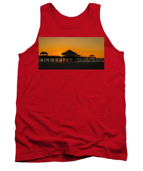 Pier 60 Sunset Tank Top by Jane Luxton
