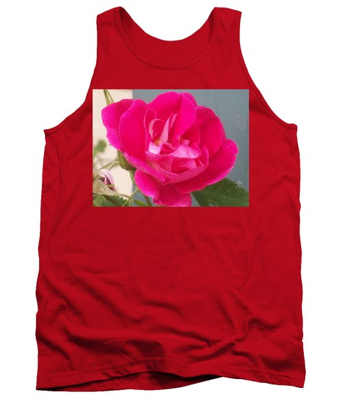 Tank Top featuring the photograph Pink Rose by Jewel Hengen