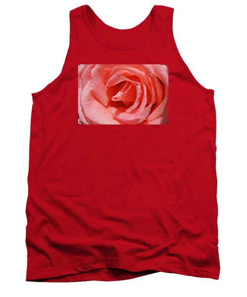 Tank Top featuring the photograph Pink Rose by Kathy Churchman