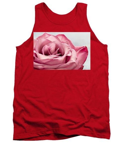 Pink Rose Macro Tank Top