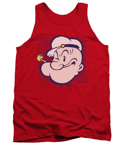 Popeye - Head Tank Top by Brand A