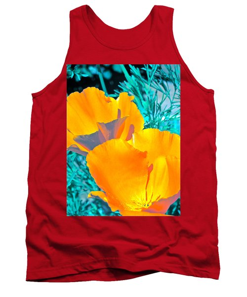 Tank Top featuring the photograph Poppy 4 by Pamela Cooper