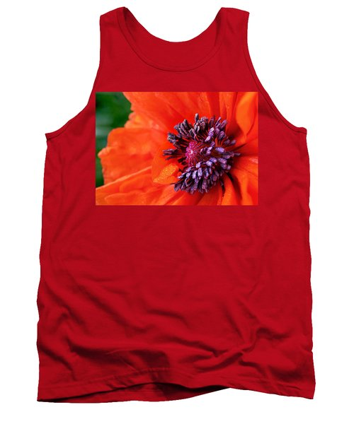Poppy's Purple Passion Tank Top by Bill Pevlor