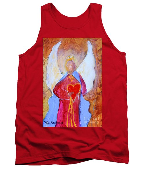Precious Heart Angel Tank Top
