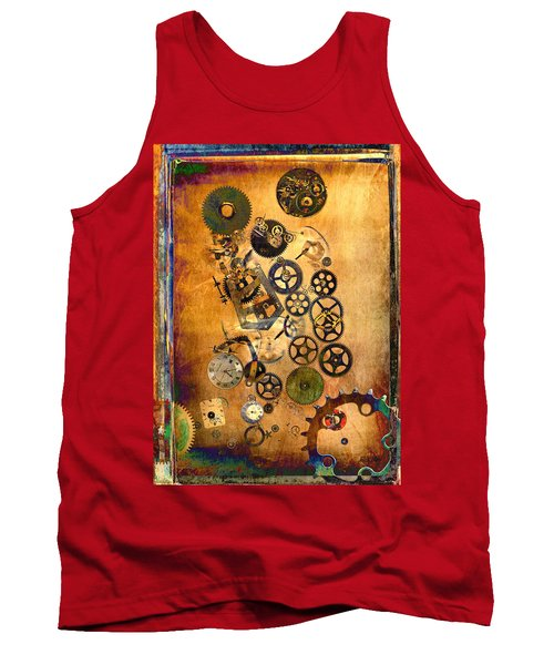 Present Tank Top by Fran Riley
