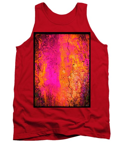 Psychedelic Flashback - Late 1960s Tank Top by Absinthe Art By Michelle LeAnn Scott