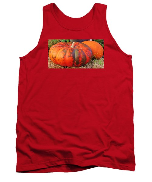 Tank Top featuring the photograph Pumpkins by Cynthia Guinn