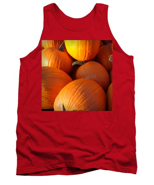 Tank Top featuring the photograph Pumpkins by Joseph Skompski