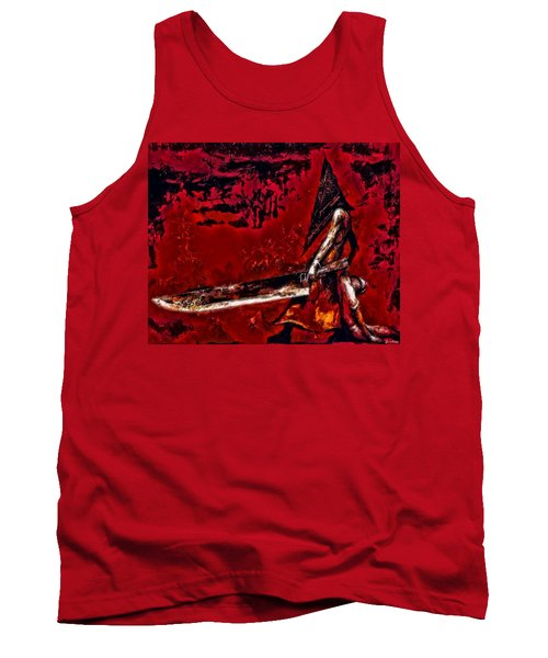 Pyramid Head Tank Top by Joe Misrasi