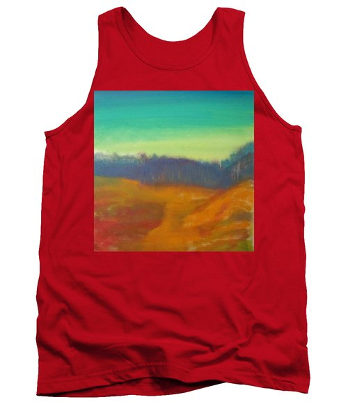 Tank Top featuring the painting Quiet by Keith Thue