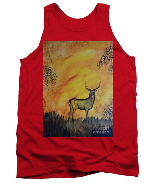 Quiet Time3 Tank Top by Laurianna Taylor