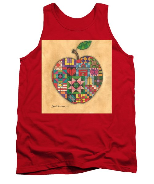 Quilted Apple Tank Top