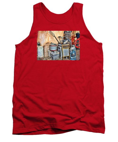 Quitting Time By Diana Sainz Tank Top
