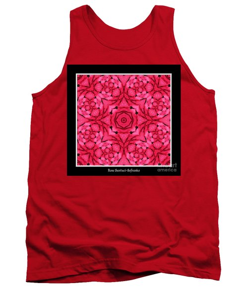 Tank Top featuring the photograph Ranunculus Flower Warp by Rose Santuci-Sofranko