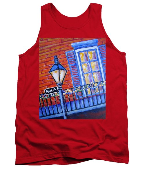 Ready For Mardi Gras Tank Top by Suzanne Theis