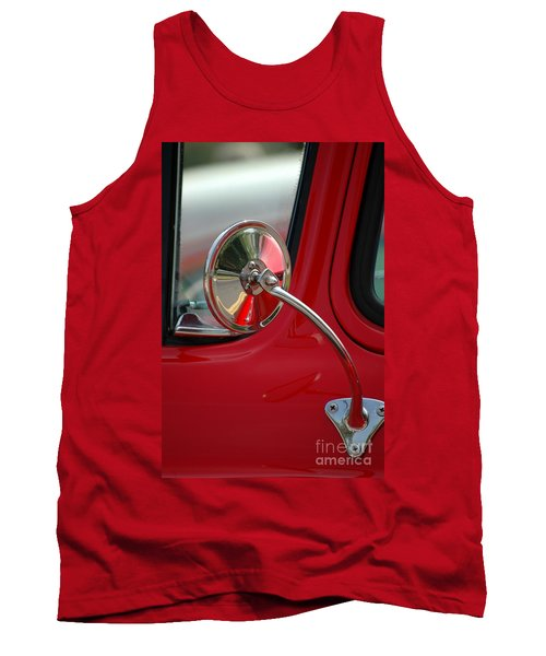 Tank Top featuring the photograph Rear View by Christiane Hellner-OBrien