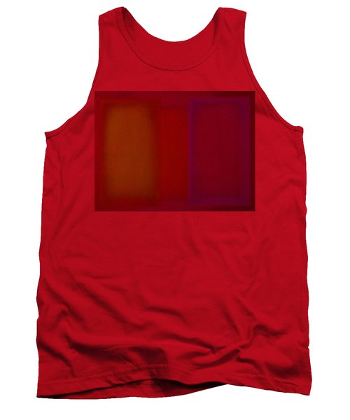 Red Tank Top by Charles Stuart