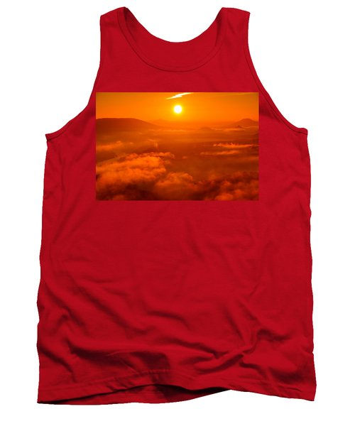 Red Dawn On The Lilienstein Tank Top
