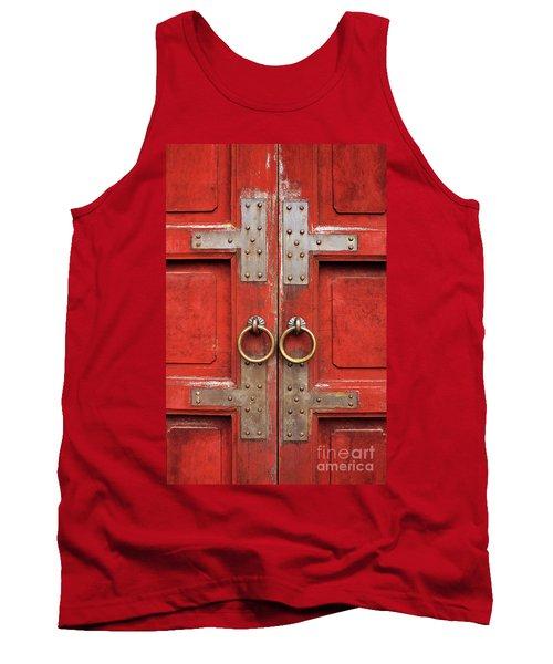 Red Doors 01 Tank Top