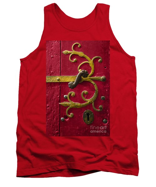 Red Entrance Tank Top