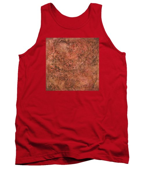 Red Eye Tank Top by Alan Casadei