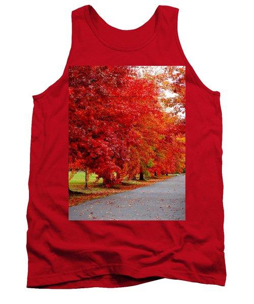 Red Leaf Road Tank Top