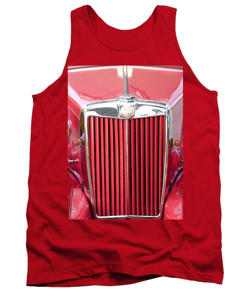 Red Mg Tank Top