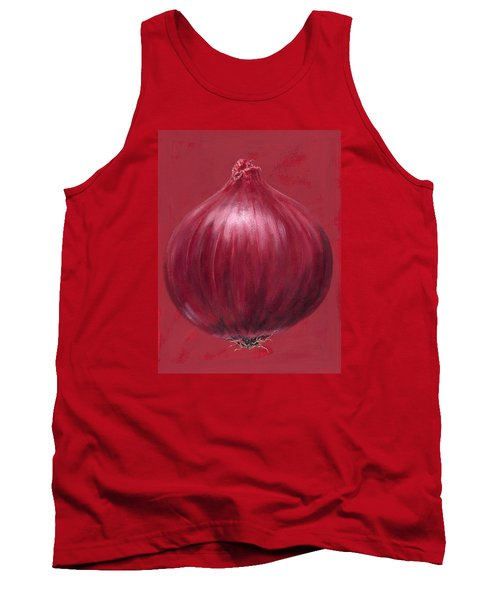 Red Onion Tank Top by Brian James