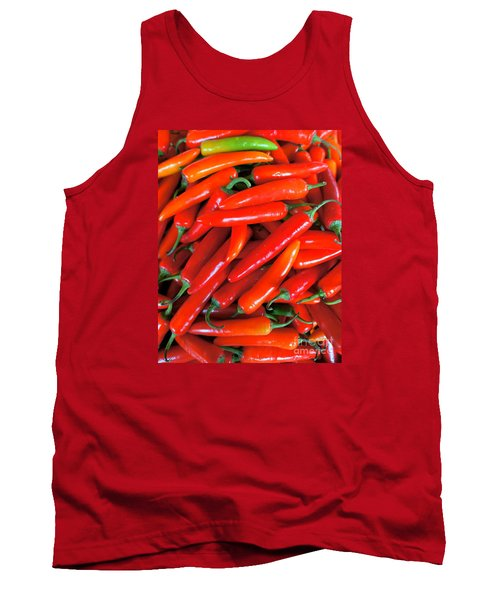 Red Peppers Tank Top