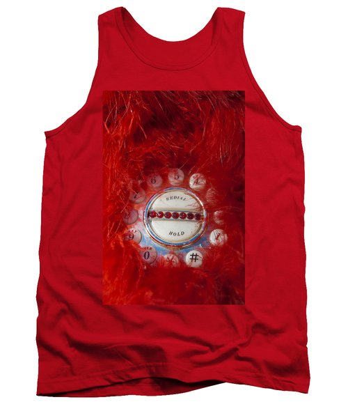 Red Phone For Emergencies Tank Top