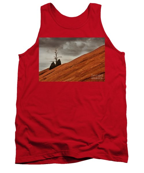 Tank Top featuring the photograph Red Rock by Dana DiPasquale