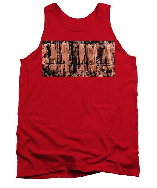 Red Rock Wall Tank Top