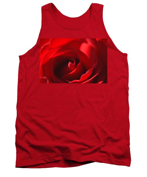 Tank Top featuring the photograph Red Rose by Tikvah's Hope