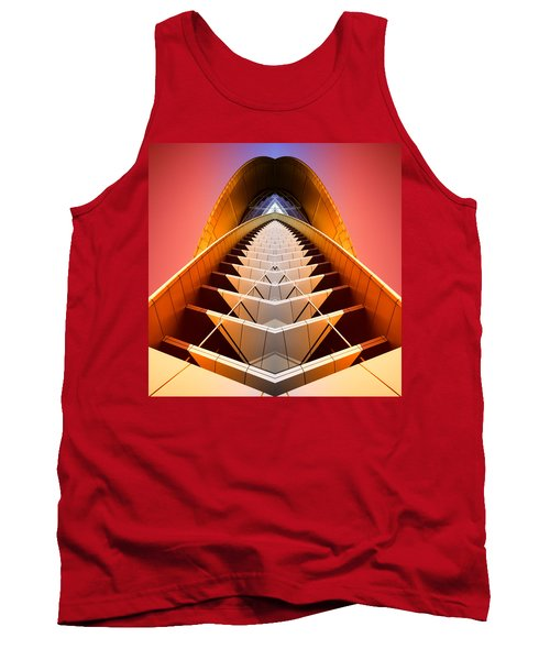 Red Shift Tank Top