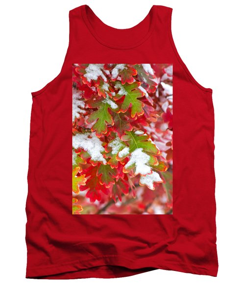 Tank Top featuring the photograph Red White And Green by Ronda Kimbrow