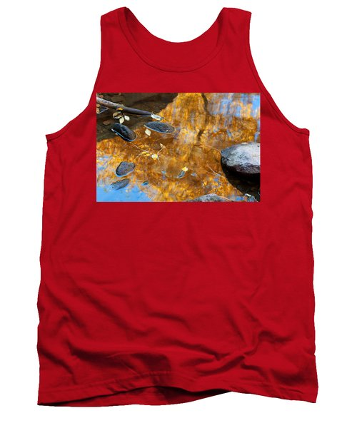 Tank Top featuring the photograph The Melting Pot by Jim Garrison