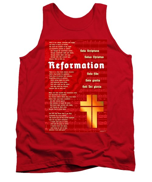 Reformation Tank Top by Chuck Mountain
