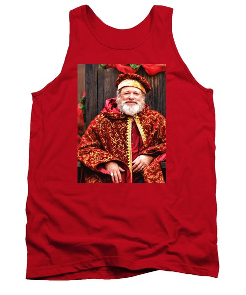 Tank Top featuring the photograph Renaissance St Nicholas by Nadalyn Larsen