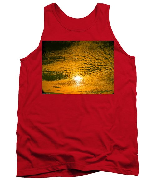 Ripples In The Sky Tank Top by Nick Kirby