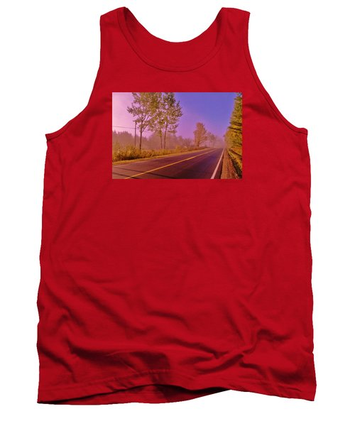 Tank Top featuring the photograph Road To... by Daniel Thompson
