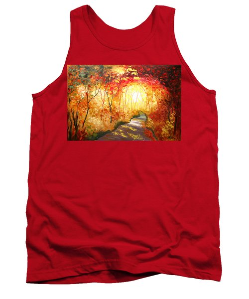 Road To The Sun Tank Top