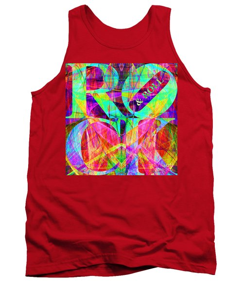 Rock And Roll 20130708 Fractal Tank Top