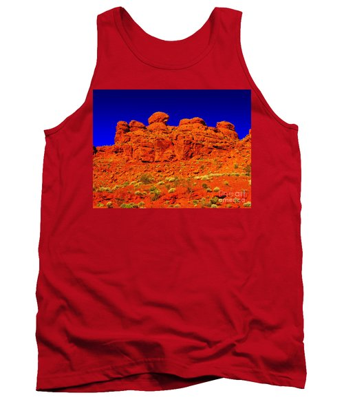 Tank Top featuring the photograph Rocky Outcrop by Mark Blauhoefer