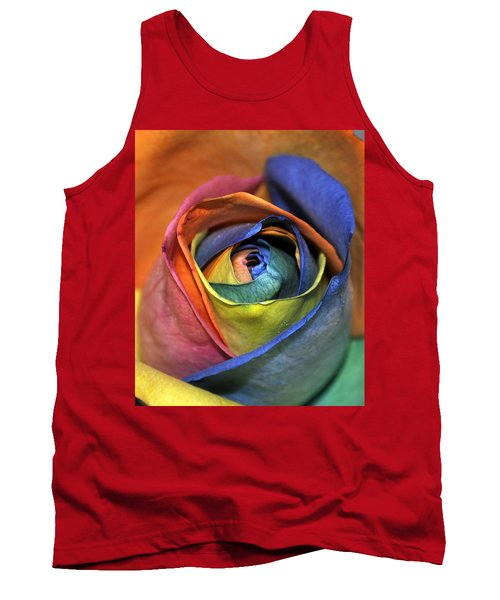Rose Of Equality Tank Top by Jim Brage