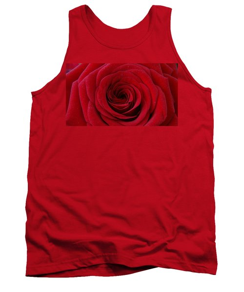 Tank Top featuring the photograph Rose Red by Shawn Marlow