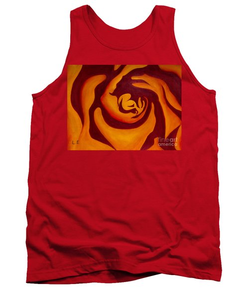 Rose Whirl 2 Tank Top
