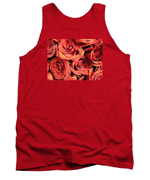 Roses For Your Wall  Tank Top by Joseph Baril