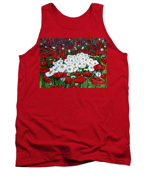 Rubies And Pearls Tank Top