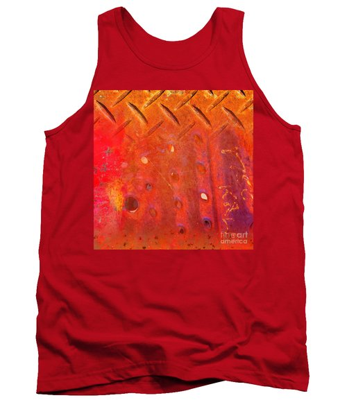 Rusted Glory 10 Tank Top by Desiree Paquette