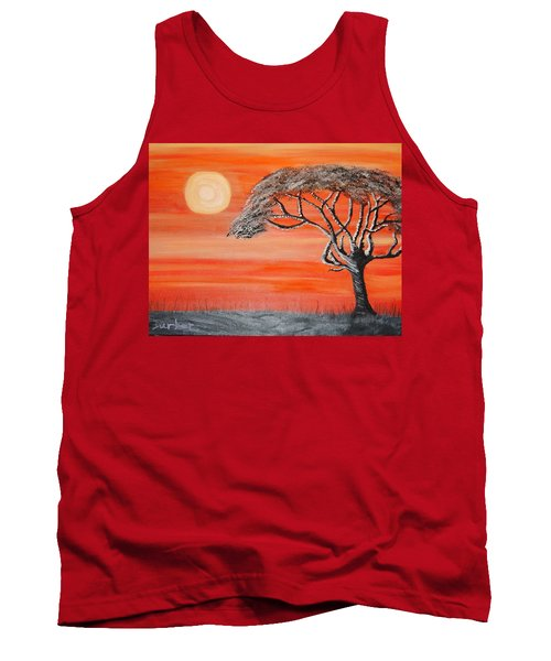 Safari Sunset 2 Tank Top